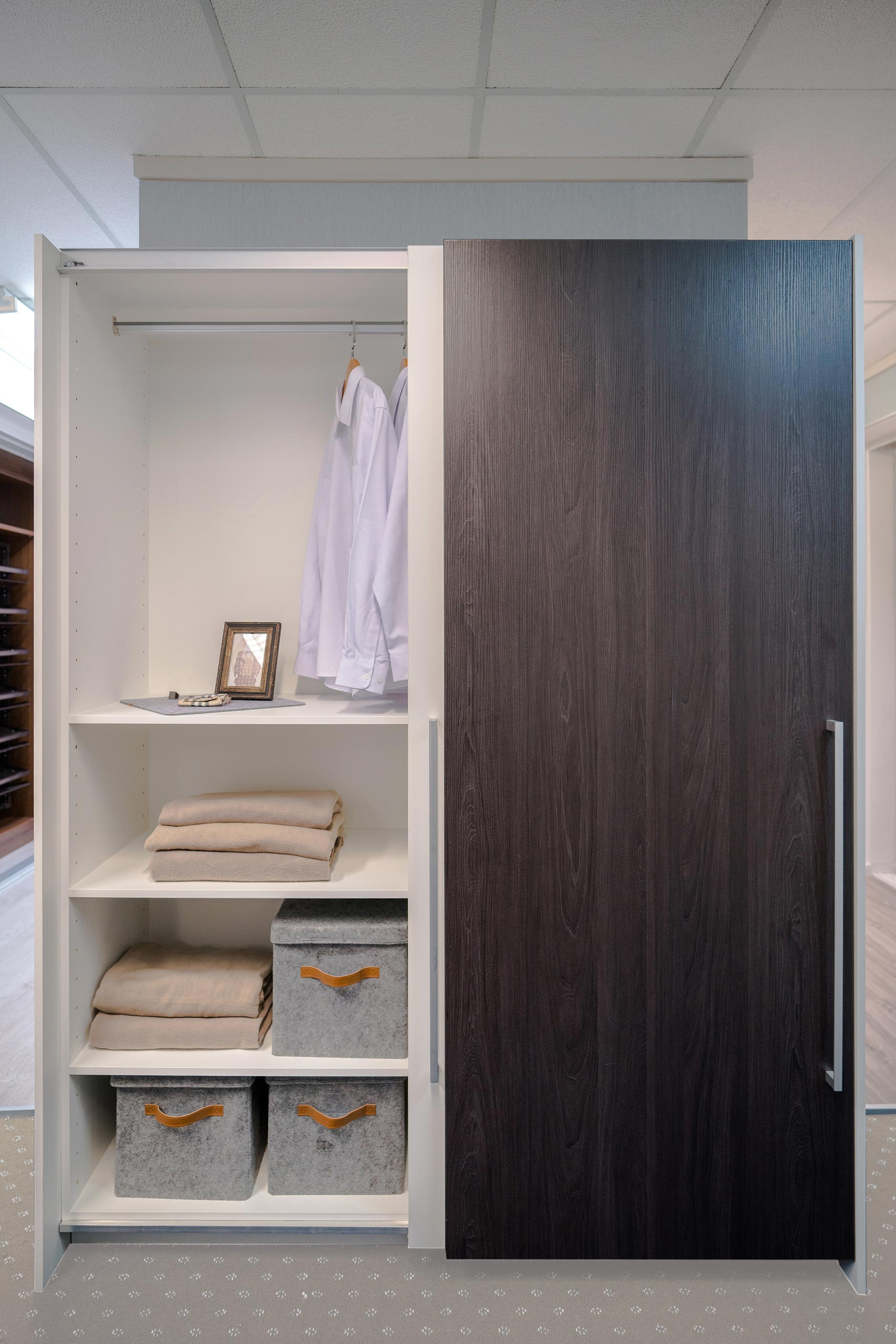 wardrobe ikea free and cm bedrooms brimnes with doors standing pin white