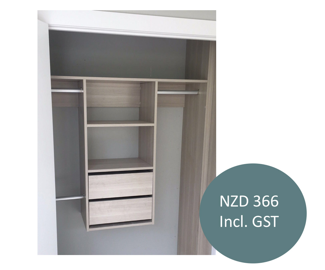 Wall Hang Wardrobe With Drawers The Slide Shop